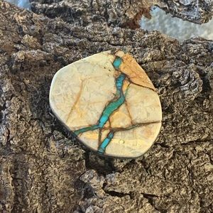 Candelaria Mine Natural Turquoise Stone